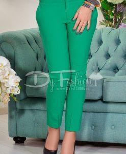 Pantalon Sorana Verde De Zi - Haine - Blugi/Pantaloni