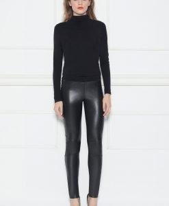 Pantalon slim cu talie joasa Negru - Imbracaminte - Imbracaminte / Pantaloni