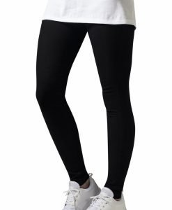 Pantaloni Skinny pentru Femei negru Urban Classics - Pantaloni trening - Urban Classics>Femei>Pantaloni trening