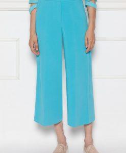 Pantaloni albastrii culottes Albastru - Imbracaminte - Imbracaminte / Pantaloni