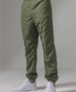 Pantaloni antrenament sport nailon oliv inchis Urban Classics - Pantaloni trening - Urban Classics>Barbati>Pantaloni trening