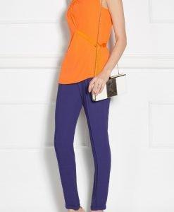Pantaloni bleumarin conici Bleumarin - Imbracaminte - Imbracaminte / Pantaloni