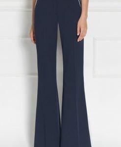 Pantaloni casual cu croi drept Bleumarin - Imbracaminte - Imbracaminte / Pantaloni