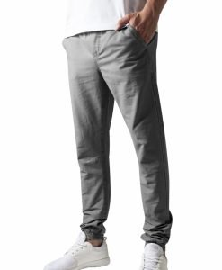 Pantaloni casual sport gri Urban Classics - Pantaloni urban - Urban Classics>Barbati>Pantaloni urban