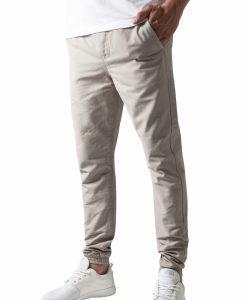 Pantaloni casual sport nisip Urban Classics - Pantaloni urban - Urban Classics>Barbati>Pantaloni urban