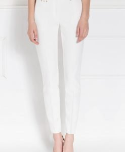 Pantaloni conici albi Crem - Imbracaminte - Imbracaminte / Pantaloni