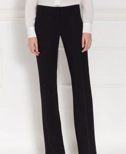 Pantaloni cu croiala dreapta Negru - Imbracaminte - Imbracaminte / Pantaloni