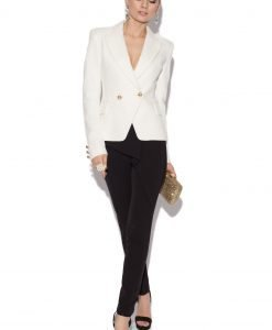 Pantaloni cu fald asimetric Negru - Imbracaminte - Imbracaminte / Pantaloni