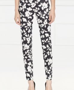 Pantaloni cu print floral Imprimat - Imbracaminte - Imbracaminte / Pantaloni