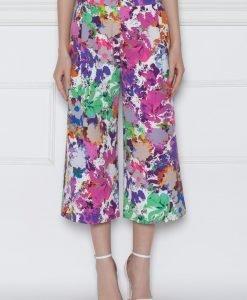 Pantaloni culottes cu imprimeu floral Print - Imbracaminte - Imbracaminte / Pantaloni