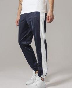 Pantaloni de trening bleumarin-alb Urban Classics - Pantaloni trening - Urban Classics>Barbati>Pantaloni trening