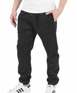 Pantaloni de trening melange - Pantaloni trening - Urban Classics>Barbati>Pantaloni trening