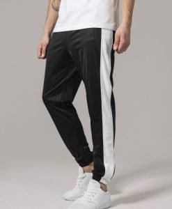 Pantaloni de trening negru-alb Urban Classics - Pantaloni trening - Urban Classics>Barbati>Pantaloni trening
