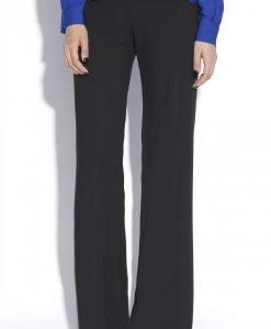 Pantaloni drept realizat din voal Negru - Imbracaminte - Imbracaminte / Pantaloni