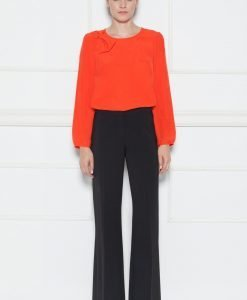 Pantaloni eleganti cu talie medie Negru - Imbracaminte - Imbracaminte / Pantaloni