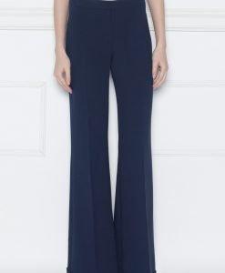 Pantaloni evazati cu manseta Bleumarin - Imbracaminte - Imbracaminte / Pantaloni