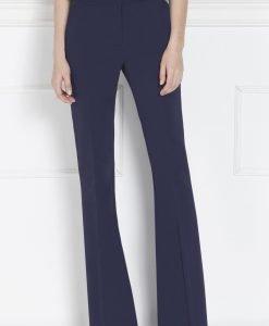 Pantaloni evazati cu talie inalta Bleumarin - Imbracaminte - Imbracaminte / Pantaloni
