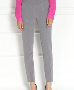 Pantaloni gri office Negru - Imbracaminte - Imbracaminte / Pantaloni