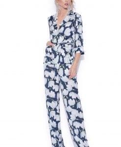 Pantaloni largi cu imprimeu floral Imprimeu - Imbracaminte - Imbracaminte / Pantaloni