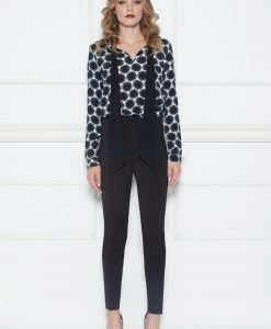 Pantaloni negri conici Negru - Imbracaminte - Imbracaminte / Pantaloni