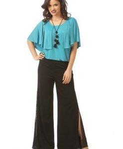Pantaloni negri eleganti P021-M - Marimi mari -