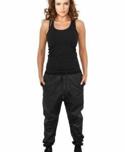 Pantaloni piele ecologica dama - Pantaloni trening - Urban Classics>Femei>Pantaloni trening