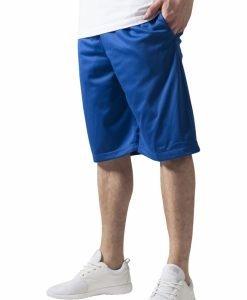 Pantaloni scurti baschet Mesh cu buzunare albastru roial Urban Classics - Pantaloni hip hop - Urban Classics>Barbati>Pantaloni hip hop