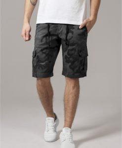 Pantaloni scurti camuflaj Camo gri-camuflaj Urban Classics - Pantaloni cargo - Urban Classics>Barbati>Pantaloni cargo