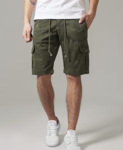 Pantaloni scurti camuflaj Camo oliv-camuflaj Urban Classics - Pantaloni cargo - Urban Classics>Barbati>Pantaloni cargo