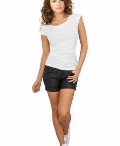 Pantaloni scurti piele ecologica femei - Pantaloni scurti - Urban Classics>Femei>Pantaloni scurti