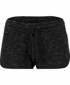 Pantaloni scurti urban pentru Femei negru-alb Urban Classics - Pantaloni scurti - Urban Classics>Femei>Pantaloni scurti