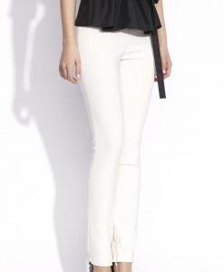 Pantaloni skinny eleganti Crem - Imbracaminte - Imbracaminte / Pantaloni