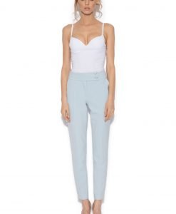 Pantaloni slim fit Albastru Deschis - Imbracaminte - Imbracaminte / Pantaloni