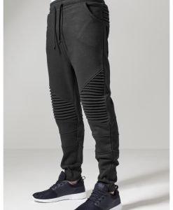 Pantaloni sport Pleat negru Urban Classics - Pantaloni trening - Urban Classics>Barbati>Pantaloni trening