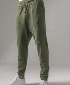 Pantaloni sport conici Interlock oliv Urban Classics - Pantaloni trening - Urban Classics>Barbati>Pantaloni trening