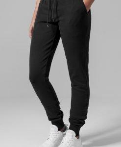 Pantaloni sport stramti Athletic pentru Femei negru Urban Classics - Pantaloni trening - Urban Classics>Femei>Pantaloni trening