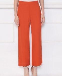 Pantaloni tip culottes din vascoza Orange - Imbracaminte - Imbracaminte / Pantaloni