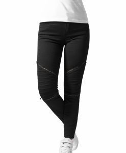 Pantaloni urban biker - Pantaloni urban - Urban Classics>Femei>Pantaloni urban