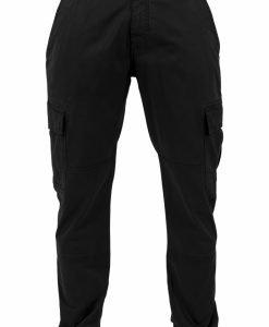 Pantaloni urban cargo cu buzunare negru Urban Classics - Pantaloni cargo - Urban Classics>Barbati>Pantaloni cargo