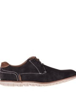 Pantofi barbati Bray negri - Incaltaminte Barbati - Pantofi Barbati