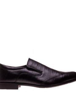 Pantofi barbati Collin negri - Incaltaminte Barbati - Pantofi Barbati