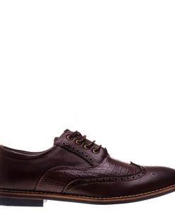 Pantofi barbati Conard maro - Incaltaminte Barbati - Pantofi Barbati