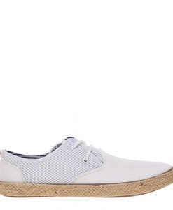 Pantofi barbati Hunter albi - Incaltaminte Barbati - Pantofi Barbati