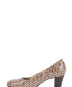 Pantofi bej din piele naturala 329 - Pantofi -