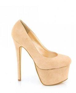 Pantofi dama Avery bej - Ultima Marime - Ultima Marime