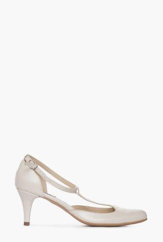 Pantofi ivoire din piele naturala CB077 – Pantofi –