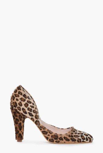 Pantofi leopard din piele de ponei CB051 – Pantofi –