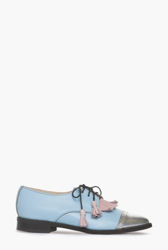 Pantofi oxford cu franjuri din piele naturala CB076 – Pantofi –