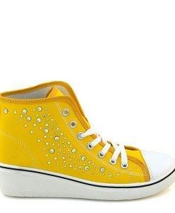 Pantofi sport dama Ivy galbeni - IMPORT - Reduceri explozive