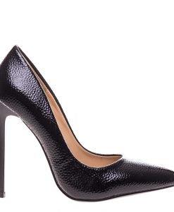 Pantofi stiletto Genevive negri - Incaltaminte Dama - Pantofi Stiletto